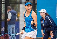 Amstelveen, Netherlands, 6 Juli, 2021, National Tennis Center, NTC, Amstelveen Womans Open, Joanna Garland (TPE)<br /> Photo: Henk Koster/tennisimages.com