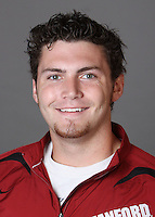 STANFORD, CA - SEPTEMBER 29:  Quinn Dawson of the Stanford Cardinal during track and field picture day on September 29, 2009 in Stanford, California.