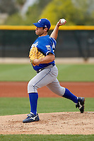 Greg Holland - Kansas City Royals - 2009 spring training.Photo by:  Bill Mitchell/Four Seam Images
