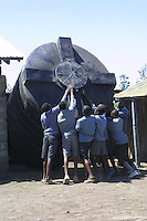 Matanya's Hope donations make it possible for life-saving rainwater storage tanks to be installed where they are needed most - areas where Kenya's suffers from long and intense droughts, causing crops to fail and people to become sick. This tank collects up to 10,000 liters of fresh rainwater from the roof gutters, and sifts out debris while keeping the water mildew and mold free. The Matanya's Hope rainwater storage tank donations were made in honor of two remarkable people. <br /> <br /> Dawn Brancheau is known and loved by many throughout the world for her courage and grace as a Killer Whale trainer at SeaWorld, Orlando Florida.  Dawn was also involved with helping her pastor in an effort to provide water to the needy in Africa.  <br /> <br /> Lex Trotter was a beloved brother, son and friend.  He is known to Matanya's Hope students as their inspiration to FLY HIGH and Forever Dreaming.<br /> Matanya is situated in an arid region of Kenya, East Africa.