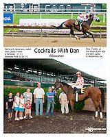 Cocktails with Dan winning at Delaware Park on 6/24/13
