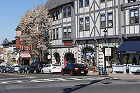 A view down Main Street from North Broadway toward the Music Hall in Tarrytown, New York