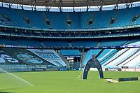 PORTO ALEGRE, RS, 12.09.2021 - GRÊMIO - CEARÁ- O público ausente, devido a Pandemia, na partida entre Grêmio e Ceará, válida pela 20 a. rodada do Campeonato Brasileiro 2021, no estádio Arena do Grêmio, em Porto Alegre, na manhã deste domingo (12).