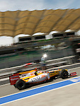 03 Apr 2009, Kuala Lumpur, Malaysia ---     ING Renault F1 Team driver Fernando Alonzo of Spain in the first practice session ahead the 2009 Fia Formula One Malasyan Grand Prix at the Sepang circuit near Kuala Lumpur. Photo by Victor Fraile --- Image by © Victor Fraile / The Power of Sport Images