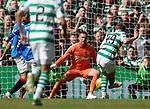 31.03.2019 Celtic v Rangers: James Forrest scores for Celtic