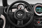 Car pictures of steering wheel view of a 2014 MINI MINI COOPER CLUBVAN 5 Door Wagon 2WD Steering Wheel