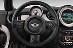 Car pictures of steering wheel view of a 2014 MINI MINI COOPER CLUBVAN 5 Door Wagon 2WD Steering Wheel
