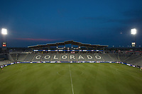 Commerce City, CO - Thursday June 08, 2017: Dick's Sporting Goods Park during a 2018 FIFA World Cup Qualifying Final Round match between the men's national teams of the United States (USA) and Trinidad and Tobago (TRI) at Dick's Sporting Goods Park.