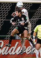 2005 MLS Regular Match  DC United Vs MetroStars At RFK Stadium, Ben Olsen (dcunited), final score DC United 1,Metrostars 2