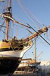 Port Townsend, tall ship, Lady Washington, classic sailing ships, Olympic Peninsula, Washington State, Pacific Northwest, USA,