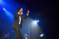 LONDON, ENGLAND - OCTOBER 7: Nick Cave and Warren Ellis performing at Royal Albert Hall, Kensington, London on October 7, 2021<br /> CAP/MAR<br /> ©MAR/Capital Pictures