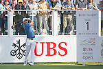 Haydn Porteous of South Africa tees off the first hole during the 58th UBS Hong Kong Golf Open as part of the European Tour on 08 December 2016, at the Hong Kong Golf Club, Fanling, Hong Kong, China. Photo by Marcio Rodrigo Machado / Power Sport Images