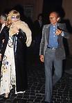 MONICA VITTI CON CARLO  DI PALMA  - ROMA 1975