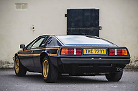 BNPS.co.uk (01202) 558833. <br /> Pic: TheMarket/BNPS<br /> <br /> Pictured: Lotus Esprit JPS. <br /> <br /> A British motor enthusiast is selling his epic collection of Lotus Esprit sports cars for over £500,000.<br /> <br /> The iconic vehicles made by the British marque between 1976 to 2004 have belonged to the unnamed collector who loved the sleek design of them.