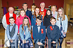 Flemby NS 6th class at their Confirmation in St Brendan's Church, Ballmac on Thursday with Bishop Ray Browne.<br /> Front l to r: Cormac McGovern, Sophie Leen, Darragh O'Sullivan and Tomas Foran Rumpler.<br /> Middle l to r: Fr Gearoid Walsh, Emily Jane Rola, Roisin Sugrue, Elena Marquez and Grace Costello.<br /> Back l to r: Fr Gearoid Wals, Paul Roche (Teacher), Bishop Ray Browne and Fiona Cooke (Principal)