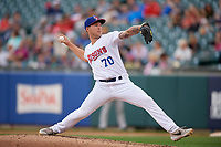 Buffalo Bisons pitcher Corey Copping (70) during an International League game against the Norfolk Tides on June 21, 2019 at Sahlen Field in Buffalo, New York.  Buffalo defeated Norfolk 2-1, the first game of a doubleheader.  (Mike Janes/Four Seam Images)