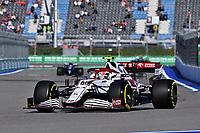 25th September 2021; Sochi, Russia; F1 Grand Prix of Russia  qualifying sessions; 99 GIOVINAZZI Antonio ita, Alfa Romeo Racing ORLEN C41
