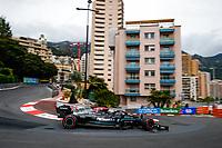 22nd May 2021; Principality of Monaco; F1 Grand Prix of Monaco, qualifying sessions;  77 BOTTAS Valtteri (fin), Mercedes AMG F1 GP W12 E Performance