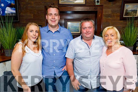 Orla Greaney, Jack Watkinson, Brendan and Deirdre Power enjoying the evening in Benners Hotel on Saturday