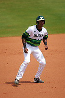 South Florida Bulls left fielder Chris Chatfield (37) during a game against the Dartmouth Big Green on March 27, 2016 at USF Baseball Stadium in Tampa, Florida.  South Florida defeated Dartmouth 4-0.  (Mike Janes/Four Seam Images)