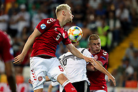 Victor Nelsson of Denmark , Luca Waldschmidt of Germany , Rasmus Kristensen of Denmark <br /> Udine 17-06-2019 Stadio Friuli <br /> Football UEFA Under 21 Championship Italy 2019<br /> Group Stage - Final Tournament Group A<br /> Germany - Denmark  <br /> Photo Cesare Purini / Insidefoto