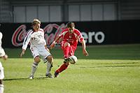 Nemrut Bargello (FSV Mainz 05) im Zweikampf mit Jakob Engelmann (FC Bayern M¸nchen)