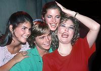 Lori Laughlin Chris Atkins Cindy Gibb Tanya Tucker 1982<br /> Photo By Adam Scull/PHOTOlink.net