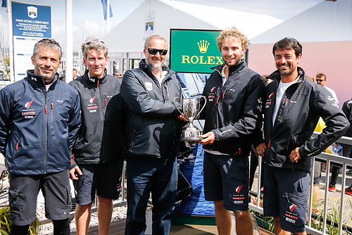 Luke Berry and team on Mach 40.3 Lamotte - Module Création won Class40 overall in the 2019 race