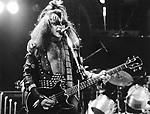 Kiss 1976 Gene Simmons.© Chris Walter.