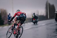 Mads Pedersen (DEN/Trek-Segafredo)<br /> <br /> 73rd Dwars Door Vlaanderen 2018 (1.UWT)<br /> Roeselare - Waregem (BEL): 180km
