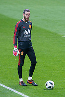 Spain David de Gea during training session the day before Spain and Argentina match at Wanda Metropolitano in Madrid , Spain. March 26, 2018. (ALTERPHOTOS/Borja B.Hojas) /NortePhoto NORTEPHOTOMEXICO