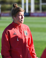20200307  Parchal , Portugal : Belgian Laura Deloose (22) pictured during the female football game between the national teams of Belgium called the Red Flames and Portugal on the second matchday of the Algarve Cup 2020 , a prestigious friendly womensoccer tournament in Portugal , on saturday 7 th March 2020 in Parchal , Portugal . PHOTO SPORTPIX.BE | DAVID CATRY