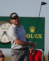17th July 2021; Royal St Georges Golf Club, Sandwich, Kent, England; The Open Championship Golf, Day Three; Louis Oosthuizen (RSA) hits his tee shot on the 17th hole