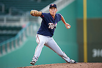 Minnesota Twins pitcher Matt Jones (48) during an Instructional League game against the Boston Red Sox on September 23, 2016 at JetBlue Park at Fenway South in Fort Myers, Florida.  (Mike Janes/Four Seam Images)