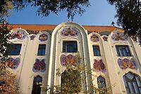 The 1902 Art Nouveau (Sezesszion) Cifra Palota (Cifra Palace) with Zolnay tiles, Hungary Kecskemét