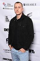 """Theo Barklem-Biggs<br /> arriving for the """"Farming"""" screening as part of the S.O.U.L. Festival at the BFI Southbank, London<br /> <br /> ©Ash Knotek  D3517 30/08/2019"""