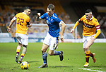 Motherwell v St Johnstone…20.02.21   Fir Park   SPFL<br />Jason Kerr and Jake Hastie<br />Picture by Graeme Hart.<br />Copyright Perthshire Picture Agency<br />Tel: 01738 623350  Mobile: 07990 594431