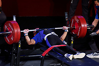 26th August 2021; Tokyo, Japan; Hiroshi Miura (JPN), Powerlifting : <br /> Men's 49kg Final <br /> during the Tokyo 2020 Paralympic Games at the Tokyo International Forum in Tokyo, Japan.