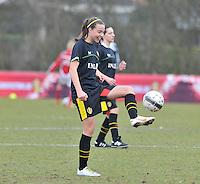 Denmark U17 - Belgium U17 : Silke Vanwynsberghe.foto DAVID CATRY / Vrouwenteam.be