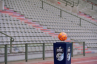 matchball pictured before a female soccer game between RSC Anderlecht Dames and Oud Heverlee Leuven on the seventh matchday of play off 1 of the 2020 - 2021 season of Belgian Womens Super League , saturday 15 th of May 2021  in Brussels , Belgium . PHOTO SPORTPIX.BE   SPP   STIJN AUDOOREN