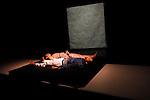 SARATH ET MARINA<br /> <br /> Chorégraphie : Jean-Christophe Bleton<br /> Danse : Marina Ligeron et Sarath Amarasingam<br /> Percussions : Marc Pujol<br /> Scénographie et accessoires : Olivier Defrocourt <br /> Lumières  Frédéric Dugied<br /> Compagnie les Orpailleurs<br /> Lieu : Théâtre Dunois<br /> Ville : Paris<br /> Date : 22/04/2013<br /> © Laurent Paillier / photosdedanse.com