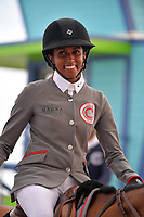 MIAMI BEACH, FL - APRIL 05: World Famous Riders attend the Longines Global Champions Tour stop in Miami Beach on April 5, 2018 in Miami Beach, Florida.<br /> <br /> People:  Mathilda Karlsson