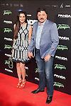 Carlos Bardem and Cecilia Jesa  attends `Open Windows´new film premiere at Palafox Cinemas in Madrid, Spain. June 30, 2014. (ALTERPHOTOS/Victor Blanco)