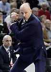 Alba Berlin's coach Sasa Obradovic during Euroleague match.March 12,2015. (ALTERPHOTOS/Acero)