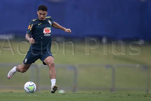 11th November 2020; Granja Comary, Teresopolis, Rio de Janeiro, Brazil; Qatar 2022 qualifiers; Allan of Brazil during training session in Granja Comary