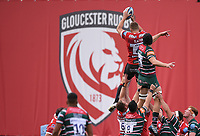 30th August 2020; Kingsholm Stadium, Gloucester, Gloucestershire, England; English Premiership Rugby, Gloucester versus Leicester Tigers; Ed Slater of Gloucester catches the lineout ball