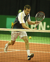 18-2-06, Netherlands, tennis, Rotterdam, ABNAMROWTT, Qualifying round, Dennis van Scheppingen