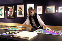 Jazz by Henri Matisse, which has an estimate of £240,000-300,000 at the Preview of Bonhams' Prints & Multiples sale. New Bond Street, London on Thursday December 10th 2020<br /> <br /> Photo by Keith Mayhew