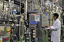 01/12/11 - SAINT BEAUZIRE - PUY DE DOME - FRANCE - METABOLIC EXPLORER. Laboratoire de recherche en chimie biologique, developpe et brevete des procedes industriels fondes sur le principe de la fermentation. Face à l epuisement des ressources fossiles, ces procedes ouvrent la voie a l utilisation des ressources naturelles renouvelables et perennes - Photo Jerome CHABANNE