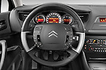 Steering wheel view of a 2010 Citroen C5 Confort 4 Door Sedan 2WD